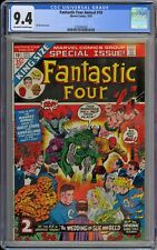 Fantastic Four King-Size Annual #10 CGC 9.4 NM OwWp Marvel 1973 Reed & Sue Wed