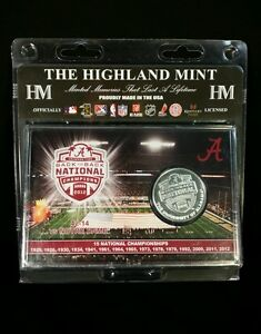 2012 BCS National Champions Collectors Coin in Acrylic Case with Stand