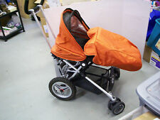 Micralite Toro Orange Standard Single Seat Stroller, New