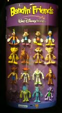 BENDIN FRIENDS-COMPLETE DISPLAY-16 DISNEY FIGURES-MONSTERS-LION KING-TOY STY-&+