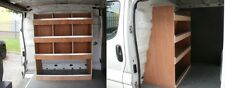 Vauxhall Vivaro Bulkhead Plywood Van Shelving Racking System Tool Storage Unit
