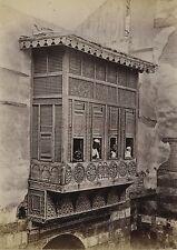 Egypte Le Caire Photo Tirage vers 1890 en petit format
