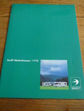 SWIFT BEL AIR, KON TIKI, ROYALE & SUNDANCE MOTORHOMES BROCHURE, 1998
