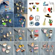 1 Set Enamel Brooch Pin Shirt Collar Lapel Necktie Clip Breastpin Women Jewelry