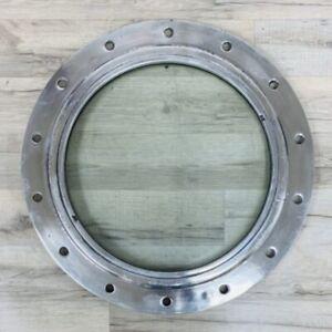 Flat-Faced Aluminum Ships Porthole 19 1/4 Inch