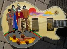 "1983 Gibson Les Paul Custom 1 of 2 ""Yellow Submarine"" painted by Mr.Greg Rich !"