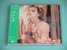 MADONNA CD Like A Virgin Other Big Hits! 1983 OOP Japan 28XD-455 OBI