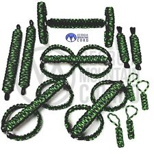 TOTAL DELUXE Paracord Jeep Grab Handles Set: (87-06) :custom-pick your colors