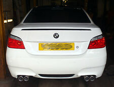 BMW 520 Diesel (E60) Custom stainless steel cat back twin exit exhaust system