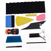 8 in 1 Car Window Tint Tools Kit for Vinyl Film Tinting Squeegee Installation UK
