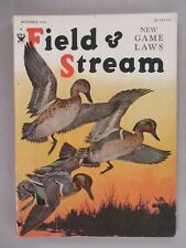 Field & Stream Magazine - October, 1934 ~~ Game Laws ~~ Field and Stream