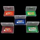 New 5 Version Game Boy Advance Pokemon Cartridge For Nintendo Game Card
