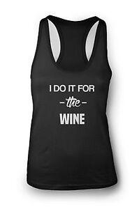 I Do it For.. Ladies Gym Vest Women Racerback Yoga Workout Vest Tank Gym Muscle