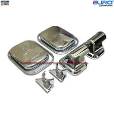 Chromed Side Door Mirror Covers Caps Bezel for H2 Hummer 2003-2005 Cab SUV SUT