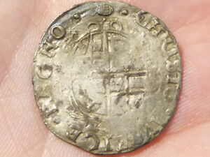 Charles 1 Sixpence Hammered Silver mm Tun  S2813  #LB14