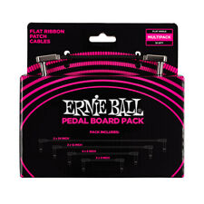 Ernie Ball Flat Ribbon Patch Cable Pedalboard Combo P06224