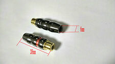 10pcs copper RCA socket  Audio Female connector soldering