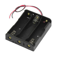 50x(Series 3.7V Flat Tip Battery Holder Case for 3 x 18650 Batteries C7R6