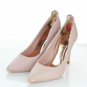 03-54 NEW $245 Women's Sz 35.5 M Ted Baker Melisah Suede Pointy Toe Pumps