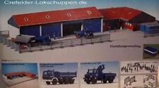 Kibri 8133 THW Set, 2 Vehicles, Vehicle Depot with Office, Fence, Nip