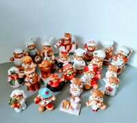 25 VTG Lucy & Me Bear Collectible Figurines Lot Holiday Lucy Rigg Enesco Rare