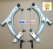 VW PASSAT 3C5 3C2  B6 (05>) 2 FRONT LOWER WISHBONE ARMS +LINKS +TRACK ROD ENDS