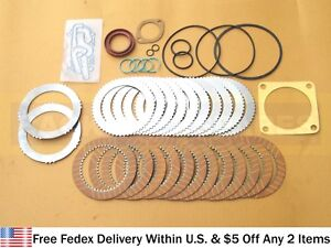 JCB PARTS - TRANSMISSION SHUTTLE KIT WITH PLATES & SEALS (445/12307 445/03205)