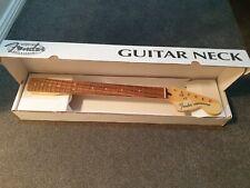 """Fender Deluxe Series Strat Neck Pau Ferro 22 Frets 12"""" As new"""