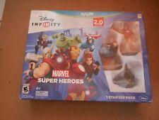 Disney INFINITY Marvel Super Heroes 2.0 Edition Video Game Starter Pack Wii U