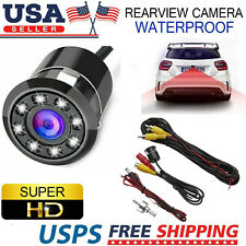 170° CMOS Car Rear View Backup 8 LED Camera Reverse Night Vision Waterproof USA