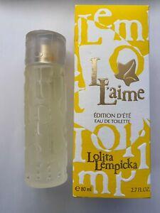 Parfum Femme L L'aime Lolita Lempicka Vaporisateur 80ml Eau De Toilette Neuf