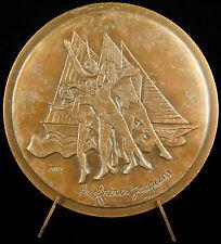 Médaille num 97/100 Les Frères Jacques André & Georges Bellec sc C Berg Medal