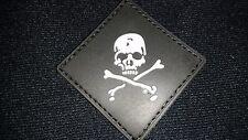 BRAND NEW POISON CHEMICAL BLACK PVC PATCH LOOP HOOK AUSSIE AUSTRALIAN SELLER !!