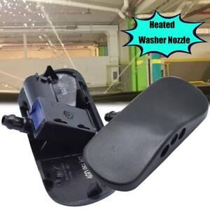 For Audi A4 B8 A6 4F Q3 8U Q5 2Pcs Front Windscreen Washer Nozzle Jet Heated
