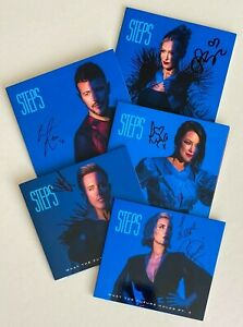 STEPS * WHAT THE FUTURE HOLDS PT. 2 * 5x CD w/ LIMITED INDIVIDUAL SIGNED SLEEVES