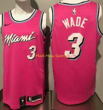 DWYANE WADE Miami HEAT Earned SUNSET Vice CITY Nike SWINGMAN Jersey Replica AUTO