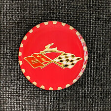 Goldred Impala Zenith Wire Wheel Chips Emblems Decals Set Of 4 Size 225in