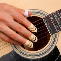 3PCS ALaska Pik Fingerpicks for Instrument Guitar/Bass/Stringed Yellow Size L M