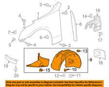 Cadillac GM OEM ATS-Front Fender Liner Inner Splash Shield Guard Right 23129107