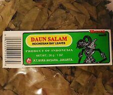 Daun Salam Indonesian Bay Leaves 1oz (30g) US Seller