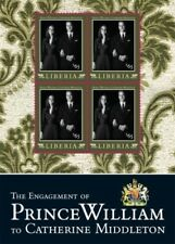 Liberia 2011 - Engagement Prince William And Kate Middleton - Sheet of 4 MNH