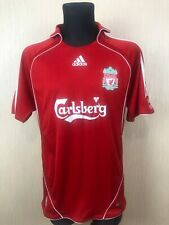 LIVERPOOL 2007/2008 HOME FOOTBALL SOCCER JERSEY SHIRT ADIDAS ADULT SIZE L