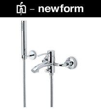 Newform EL-X 60640/C W.M Single Lever Bath & Shower Mixer w/HandShower+Hose NIB
