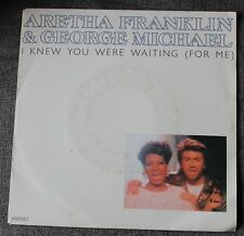 George Michael & Aretha Franklin, i knew you were waiting  , SP - 45 tours