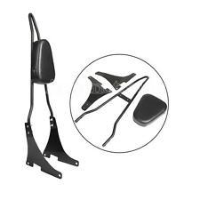 Detachable Sissy Bar Backrest Cushion Pad For Harley Sportster XL 883 1200 04-18