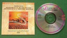 Chopin Polonaise Walzer Nocturne Preludes Mazurkas Czernicka Tomsic + CD
