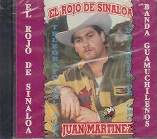 Juan Martinez El Rojo De Sinaloa New Nuevo Sealed