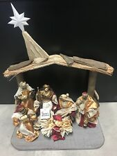Christmas In July /Holy Family 16Cm Nativity Scene Religious