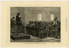 Antique Print-AMERICA-BLACKWELLS-NEW YORK-DINING ROOM-PENITETIARY-Anonymous-1876