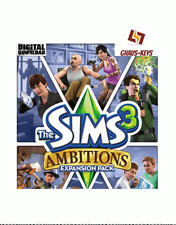 The Sims 3 Ambitions DLC Origin Key Pc Download Code Global [Blitzversand]